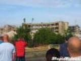 Demolition Rubble Near-Miss