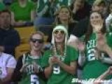 Dancing At Celtics Game