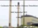 Demolition Of Power Station Chimneys