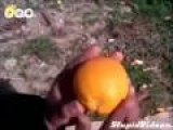 Dirty Way To Peel Orange