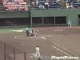 Entertaining Japanese Baseball Player