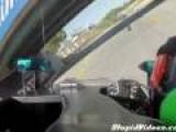 Formula Race Car Crash