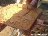 Food Vendor Sells Bee Mochi