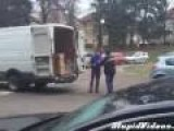 Fight Vith Delivery Truck Driver