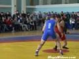 Fight At Russian Wrestling Match