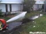 Flamethrower Vs Fire Engine Hose