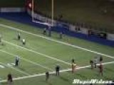 Field Goal Kicker Bounces Football Off Ref' S Head