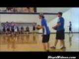 Guy Knocks Self Out In Dodgeball