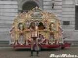 Goth Organist Street Performer