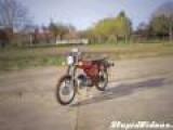 Hotdog-Shooting Motorcycle