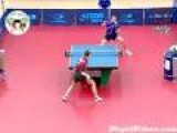 Incredible Behind The Back Ping Pong Shot