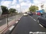 Incredible Footage From Crashed Motorcycle Dashcam