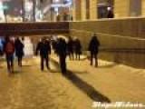 Icy Walkway