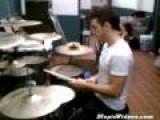 Juggling Drum Sticks While Playing