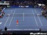 Kid Beats Roger Federer