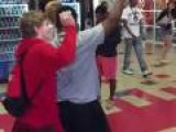Kid Hits Teacher In Head With Water Bottle