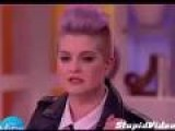 Kelly Osbourne Puts Her Foot In Her Mouth