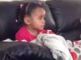 Little Girl Reacts To Mufasa's Death In Lion King