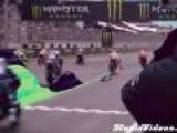 Motorbike Racing With Animation Effects