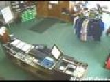 Man Falls Through Golf Shop Ceiling