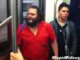 Man Sings Crazy On Train