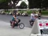 Moped Crash