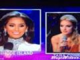 Miss Rhode Island Doesn't Understand The Question