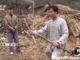 Monk Breaks Branch With Hands