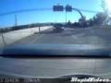 Man Has Amazing Reaction To Being Rear-Ended