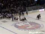 NYPD Vs. NYFD Hockey Fight