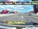 NASCAR Crash Into Pit Crew