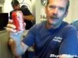 Opening Soda On Ocean Floor