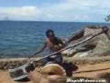 One-Man-Band Plays Custom Instrument