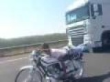 Planking On Motorcycle