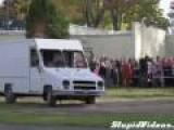 Pumpkin Crushes Truck