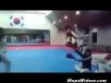 Quadruple Flying Kick