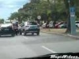 Road Rage In Brazil
