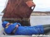 Rusty Boat Crash Wakes Up Man