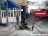 Russian Fire Hose Hovercraft