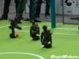 Robot Soccer With Announcers