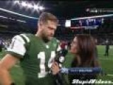 Ryan Fitzpatrick Gets Spooked And Squeals