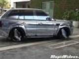 Shiny Range Rover
