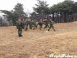 South Korean Marine Corps Training Demonstration