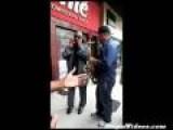 Stevie Wonder Jams With Street Musician
