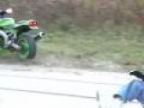 Standing Motorcycle Fail