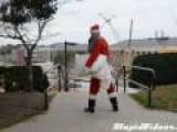 Santa Pillowfight