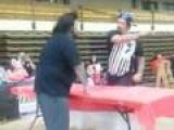 Slap Contest Ends In Knockout