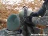 Soldier Can't Figure Out Why Gun Won't Shoot
