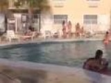 Spring Break Pool Show Off Fail