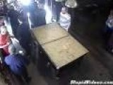 Sitting On Pool Table Fail